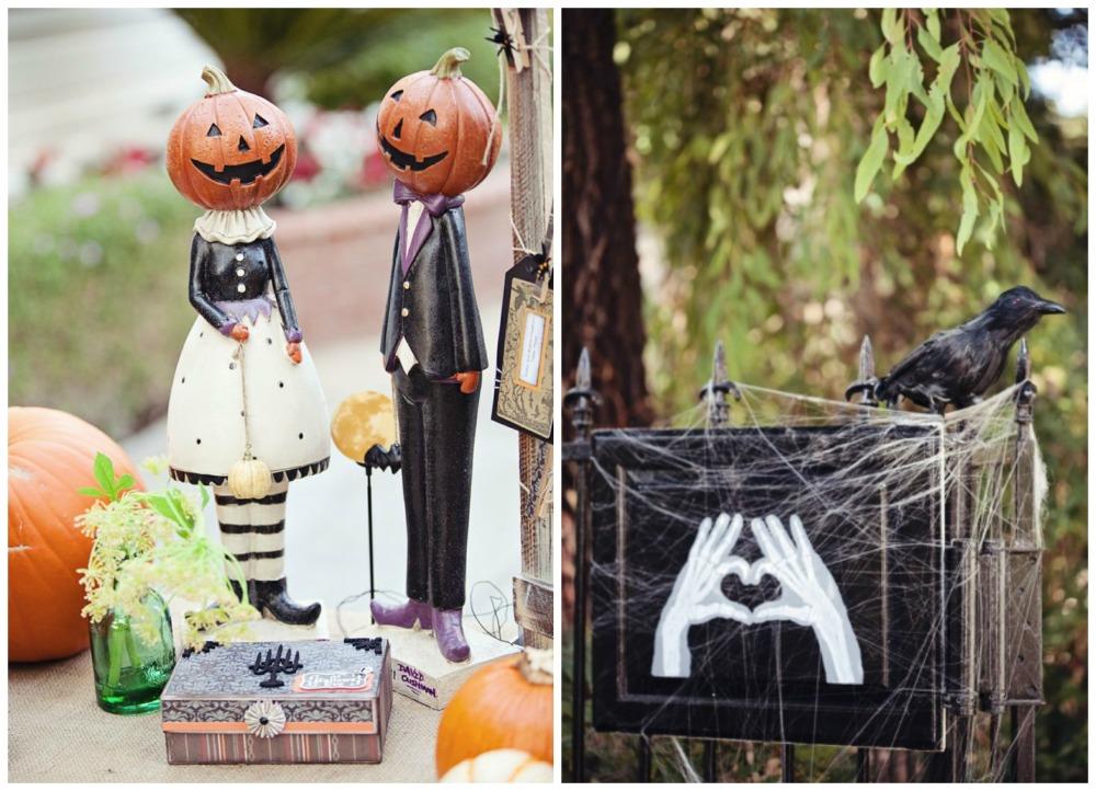 Свадьба в стиле halloween