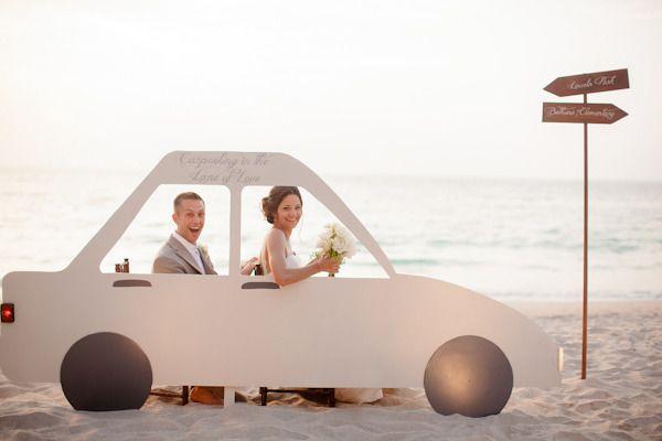 Создаем интересную фотозону для свадебной фотосессии
