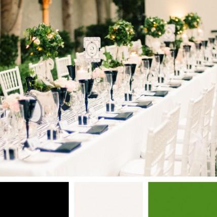 сочетание цветов свадьба 2014