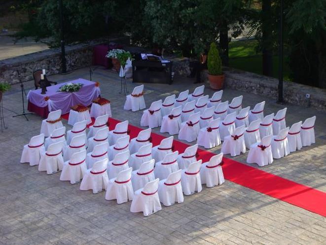 свадьба в усадьбе мадрид