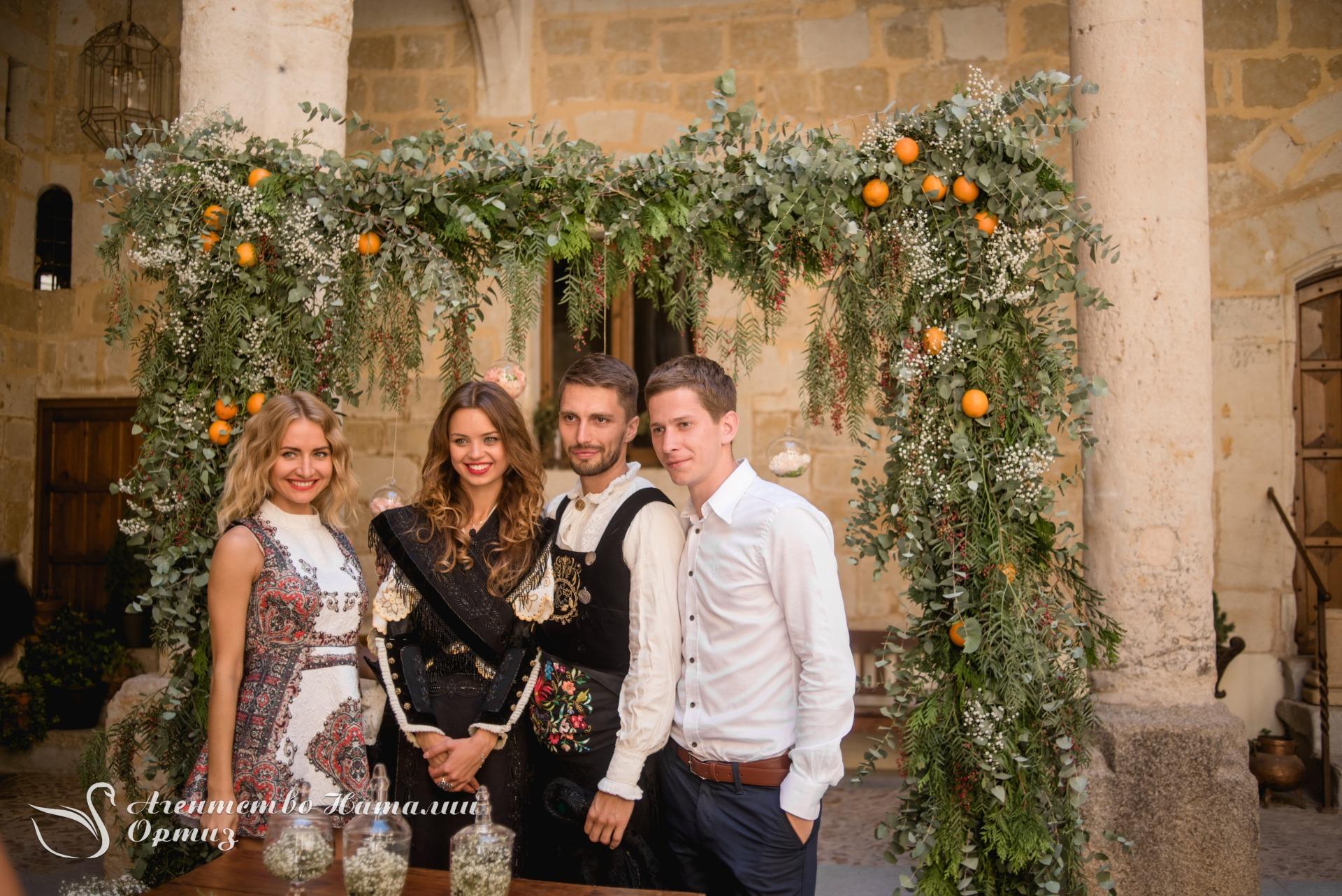 Жанна, пожени. Испания
