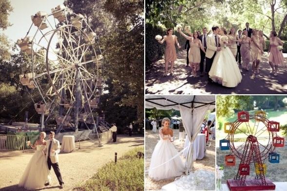 свадьба в тиле карнавал