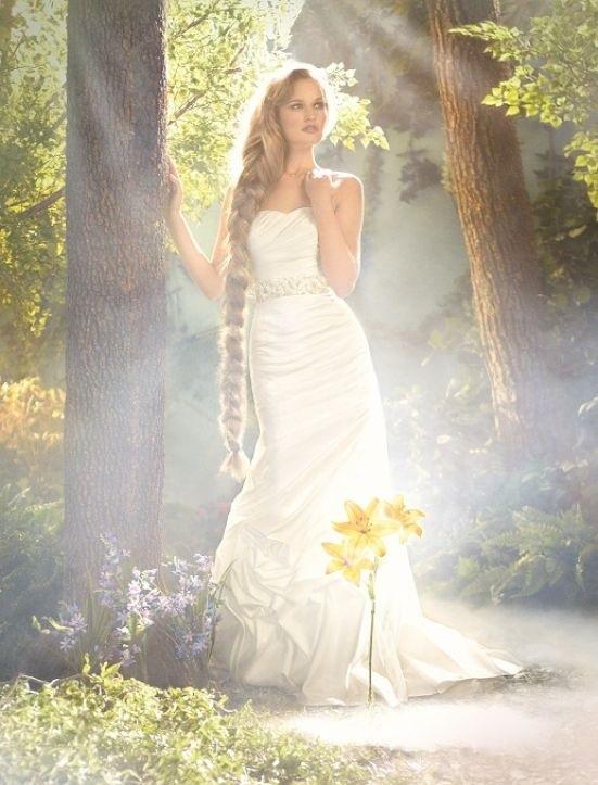 Свадебные платья в стиле Дисней