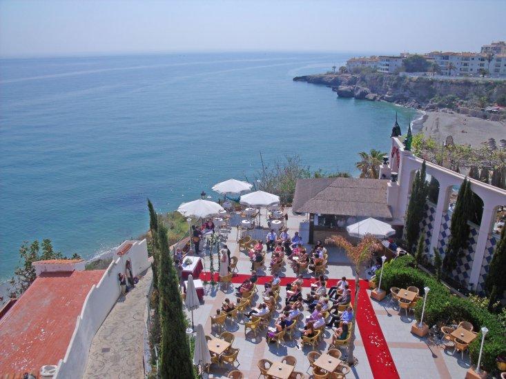 свадьба на панорамной террасе