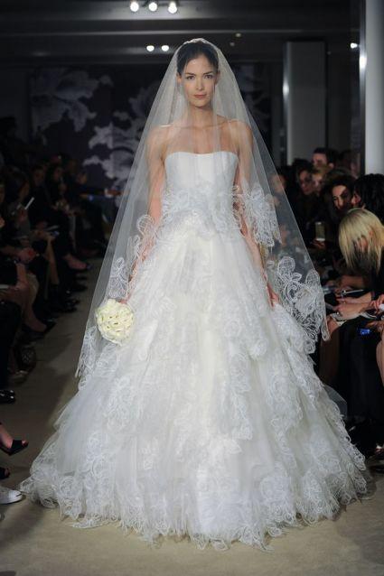 свадебные платья Carolina Herrera 2015