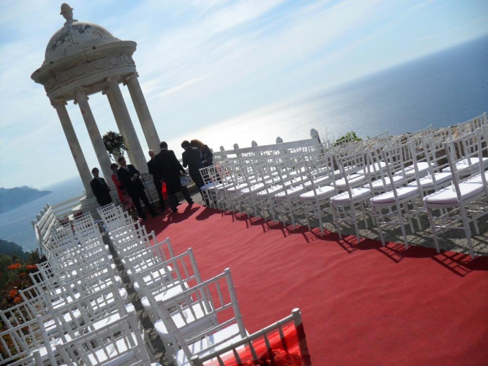 свадебная церемония на острове майорка
