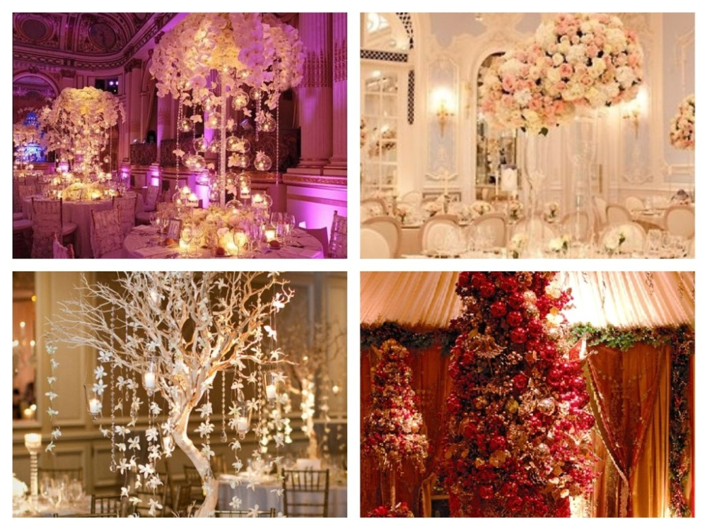 оформление столов свадебных