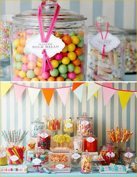 Как оформить candy bar