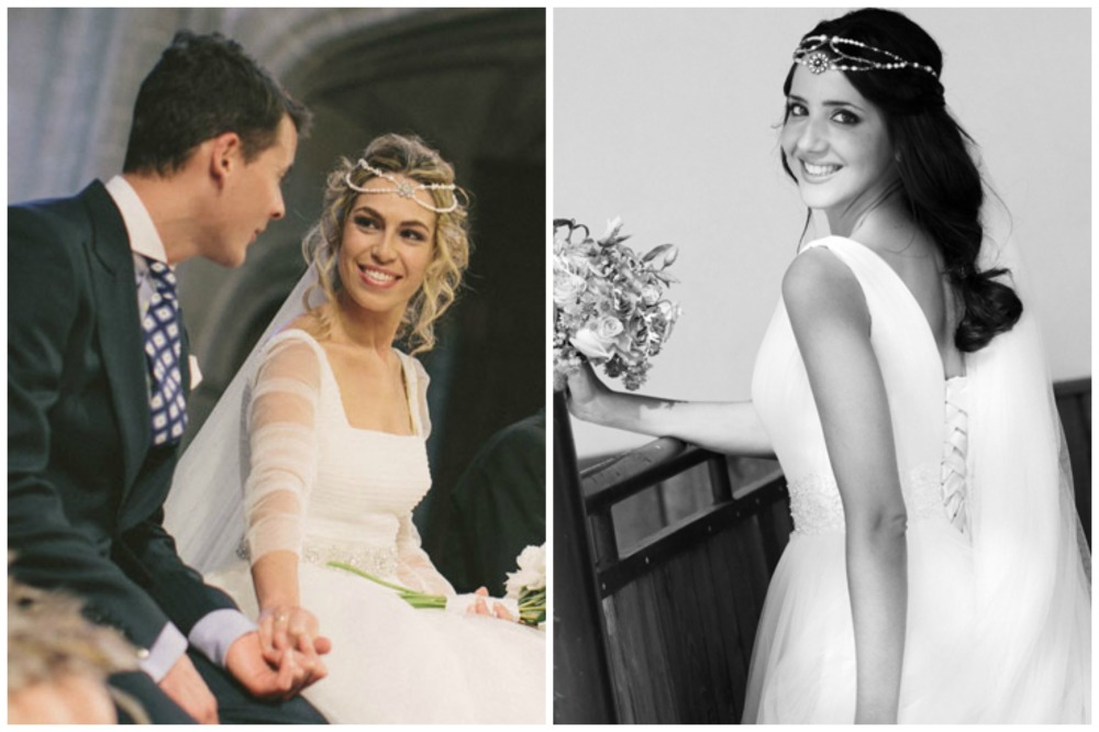 Свадебные прически с аксессуарами