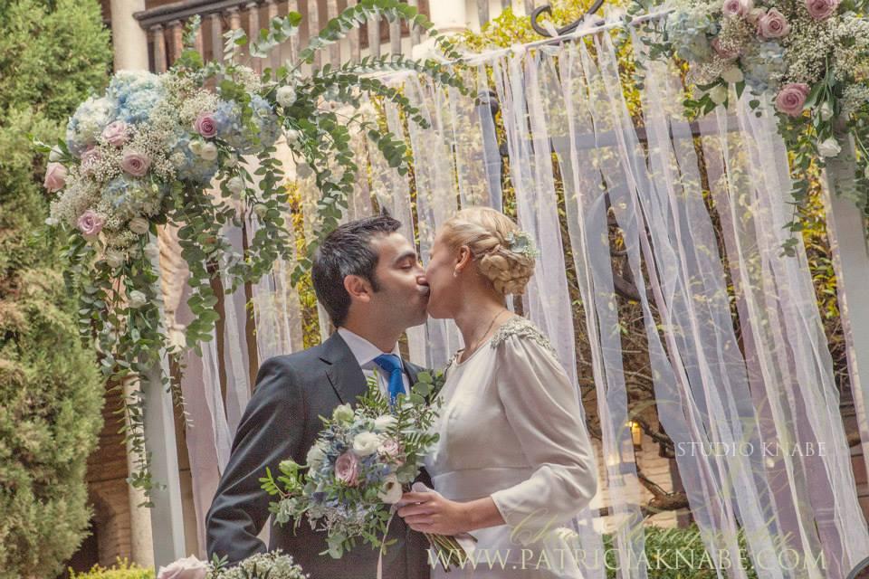 символическая свадьба от агентства Наталии Ортиз