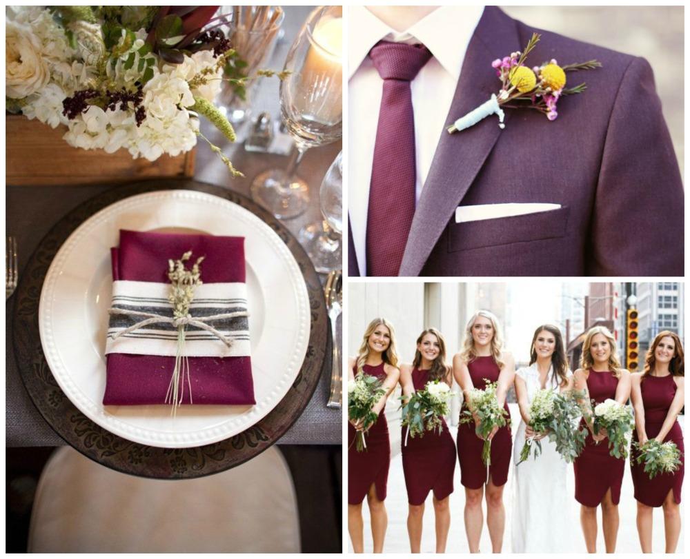 Самый популярный цвет на свадьбе 2015