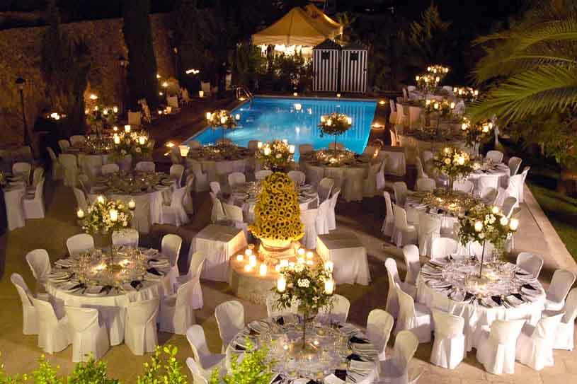 свадьба на вилле