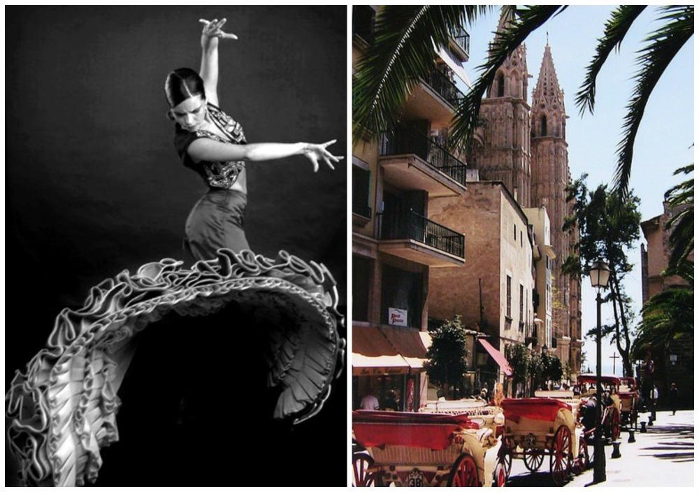 Идея девичника - мастер-класс фламенко в Испании