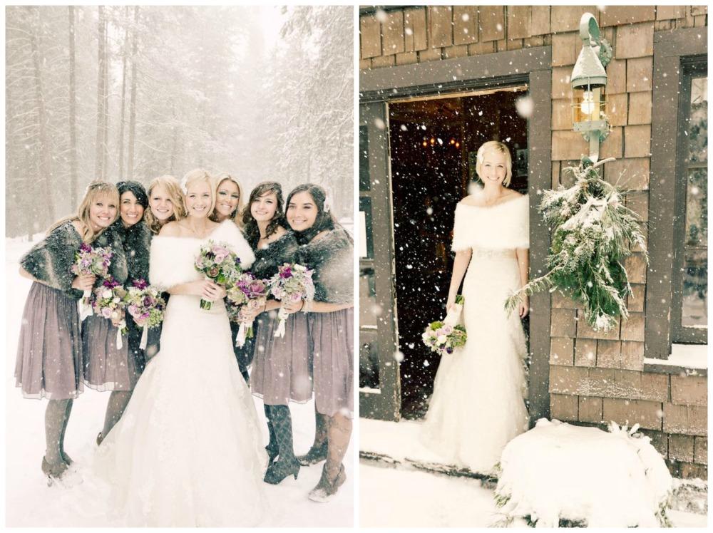 Свадьба зимой: плюсы и минусы