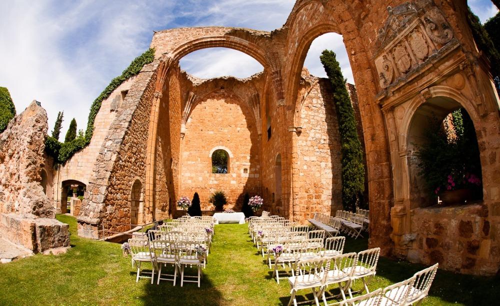 свадьба на руинах