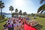 Свадьба в отеле с видом на море