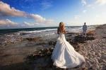 Образ невесты для свадьбы на пляже