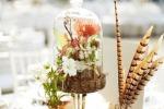 Идеи украшения центра свадебных столов