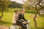 Свадьба Аны и Роберто в стиле кантри-шик