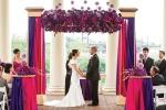 Идея свадебного декора - цветные блоки